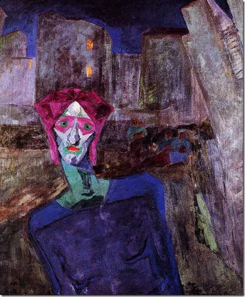 Umberto Boccioni_Noche (1911)