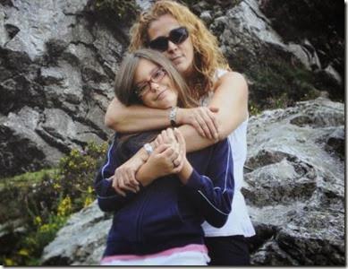 Carla Magniem y madre