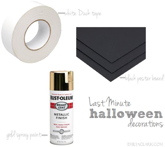 easy halloween decorating