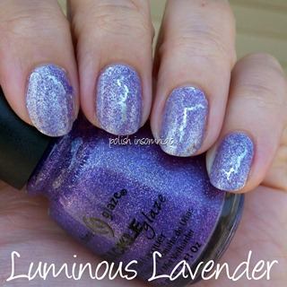 China Glaze Luminous Lavender