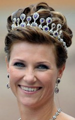 Princess Martha Louise - Amethyst Tiara
