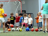 Soccer at the South Run Rec Center. (June)