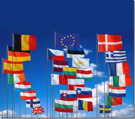 Bandeiras europa