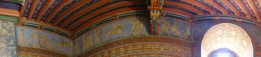 2014.09.09-021 frise dans la chambre de l'empereur