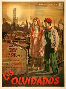 Poster Los olvidados