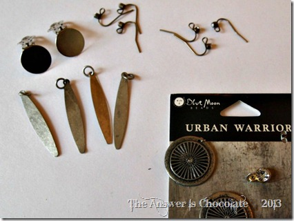 Urban Warrior Earrings
