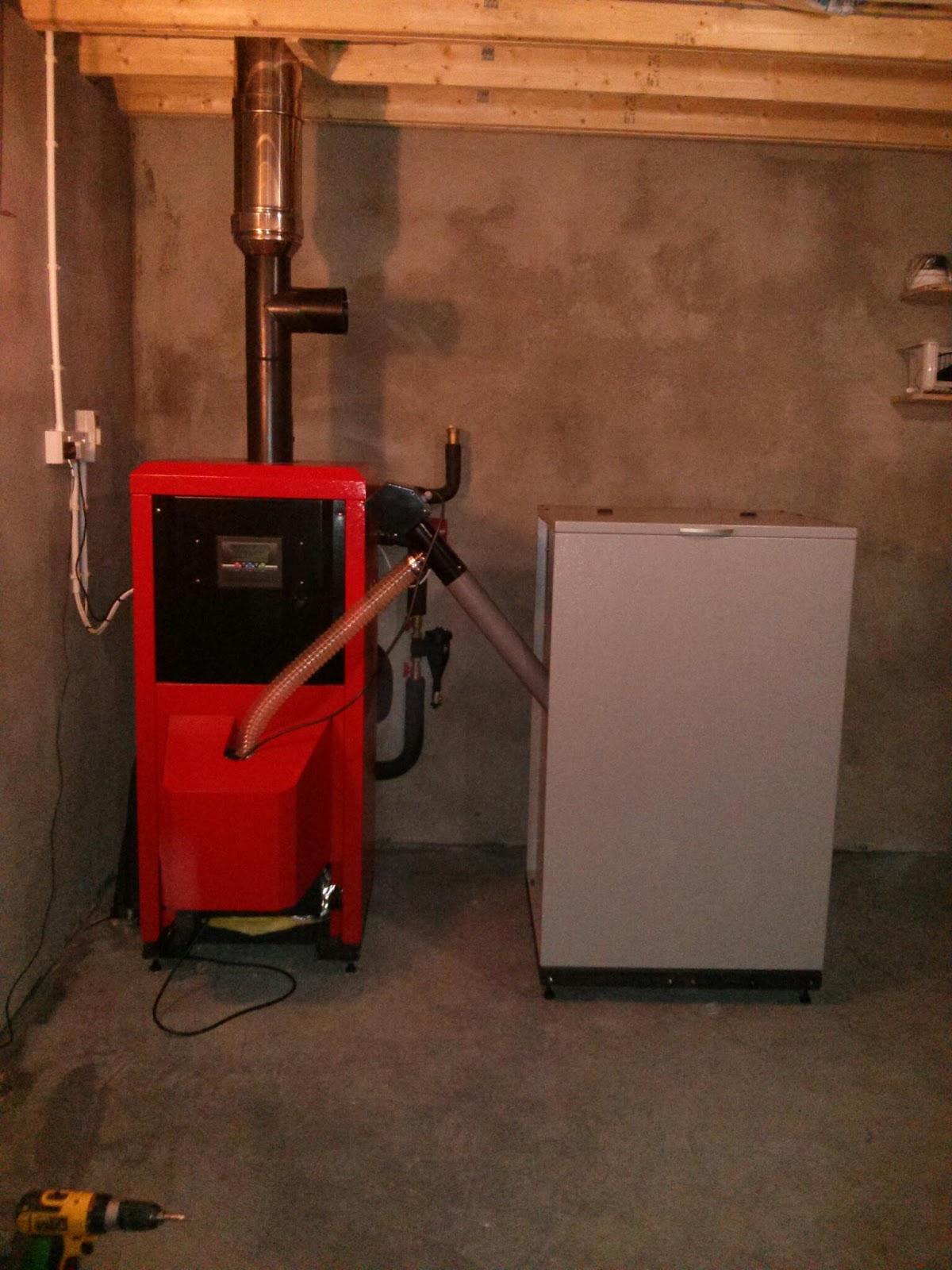 Green Energy Technology 28kw Wood Pellet Boilers