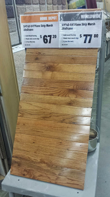 Home Depot n Worldwide oak hardwood flooring, Edison, NJ
