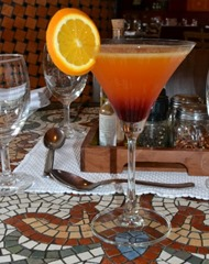 Orange and Peach Martini Pic Courtesy PR Pundit