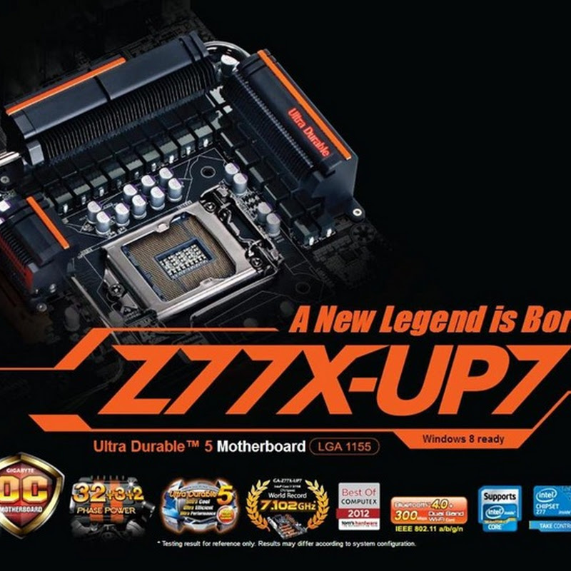 GIGABYTE Z77X-UP7 gets officially announced