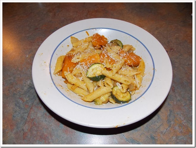 Penne With Roasted Vegetables  (3)
