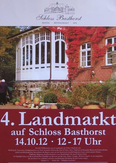 4. Landmarkt auf Schloss Basthorst