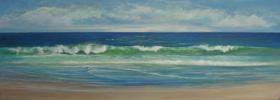 the gift seascape painting