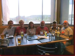 2013.07.09 Dave, Nancy, Dianne, Tom, Nancy, Bill