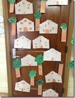 Pecan trees and alamo