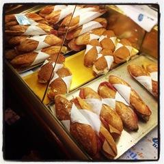 bagettes at la Boqueria