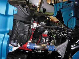 ACT Expo 2011 in Long Beach, Calif. included one of the first public showings of the new 11.9-liter spark ignition engine from Cummins Westport. It was displayed as a proof-of-concept engine in a Freightliner Cascadia tractor.