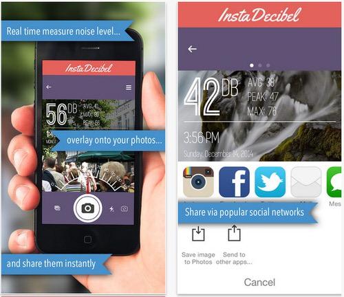 騒音レベルを記録するiPhoneアプリ