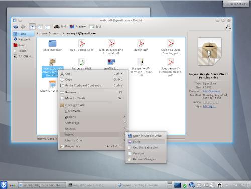 Insync beta 4 su Kubuntu