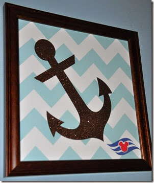 Chevron Anchor Art