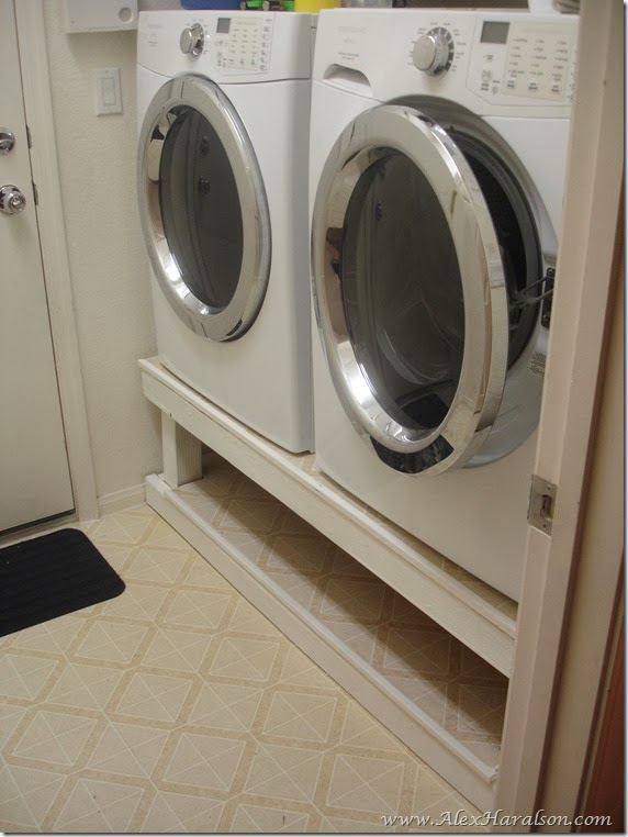 Washer Dryer Stand12