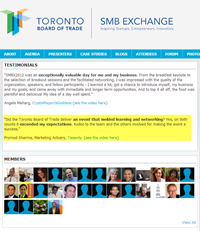 SMB Exchange website
