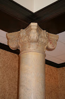 "H90"" Custom Scamozzi Marble Column"