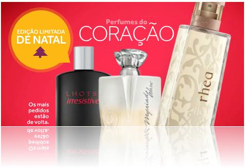 """""""Perfumes do Coração"""" O Boticário"""