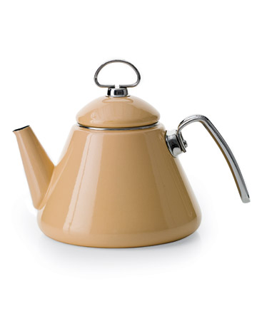 Clean your tea kettle.