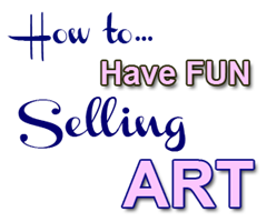 fun selling art