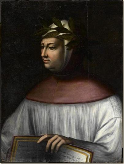 Portrait de Pétrarque
