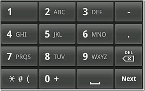 android-t9-klavye