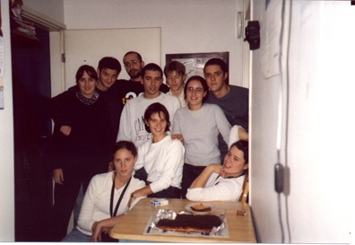 Mi cumpleaños. Octubre de 2001