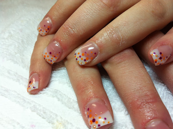 Acrylic French Tip Nail Designs French Acrylic Nail Designs