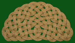 Rope mats come in many different shapes and patterns. (theropedoctor.com)