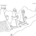 reyes magos para colorear (5).png