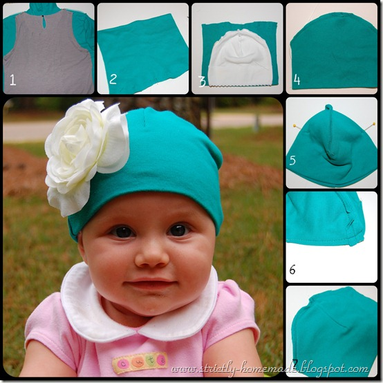 Baby Cap Collage