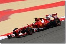 Massa nelle prove libere del gran premio del Bahrain 2013