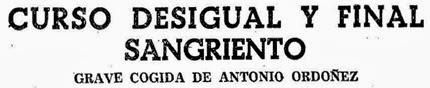 1956-06-21 (p. 22 ABC) Titular cogida