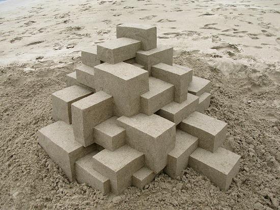 Castelos de areia geometricos (2)