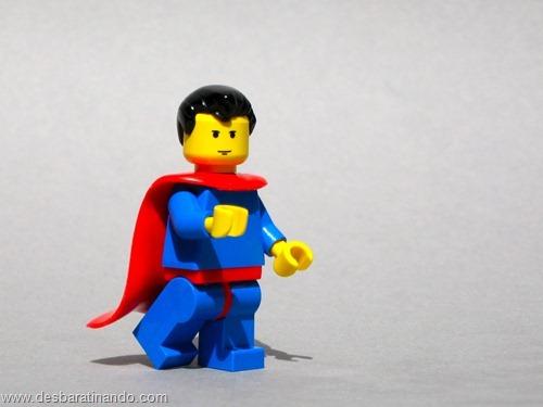 Super homem super heróis de lego desbaratinando  (2)