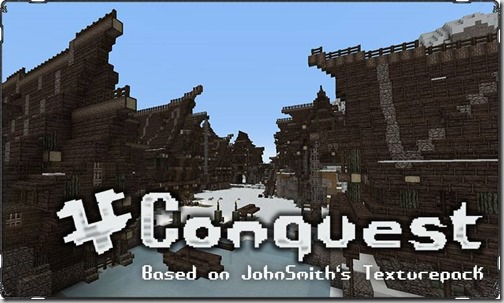 Conquest-texture-pack-Minecraft