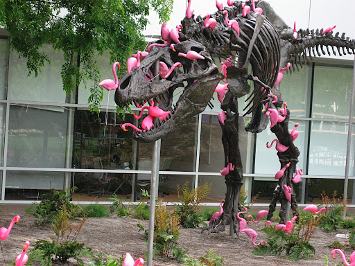 The first hack of the dinosaur at the Googleplex