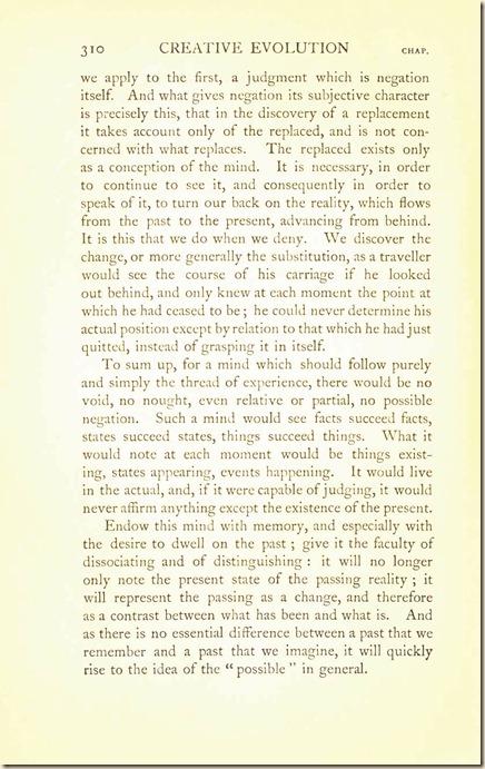 Bergson. Creative Evolution. 1911 creativeevolutio00berguof.test.t_Page_324