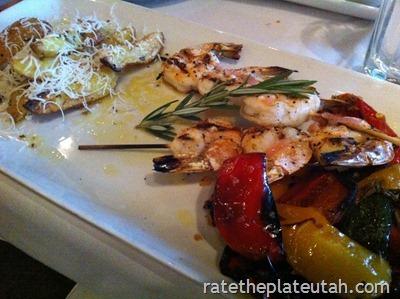 Macaroni Grill Shrimp Spiedini