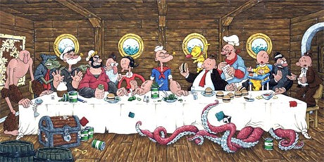 popeye-last-supper