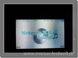 Nintendo 3DS Sound
