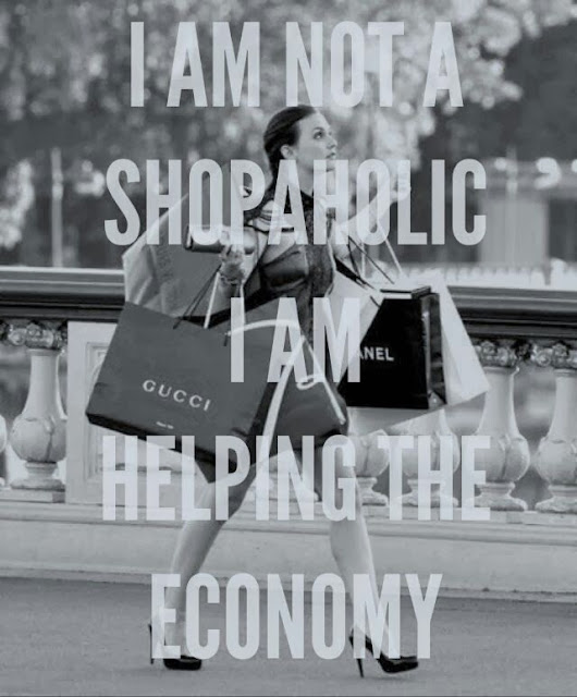 Shopaholic, fashion, shopping