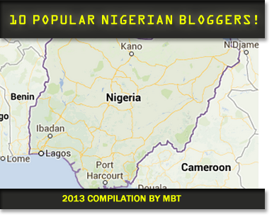 top10 Popular Nigerian Bloggers