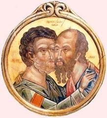 Imbratisarea-Sf_-Apostoli-Petru-si-Pavel